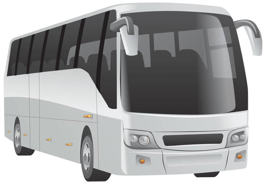 Clipart bus shadow. White png free images