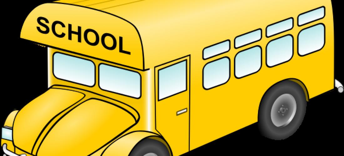 Transportation bus window