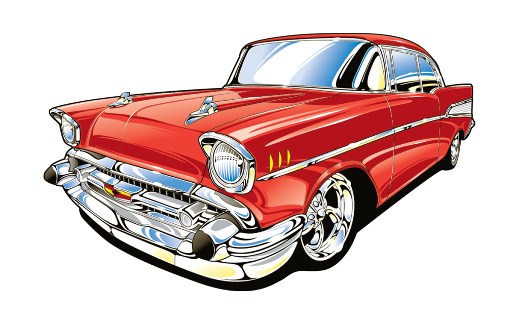 clipart car thunderbird #66077833