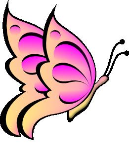 Clip art at clker. Clipart butterfly