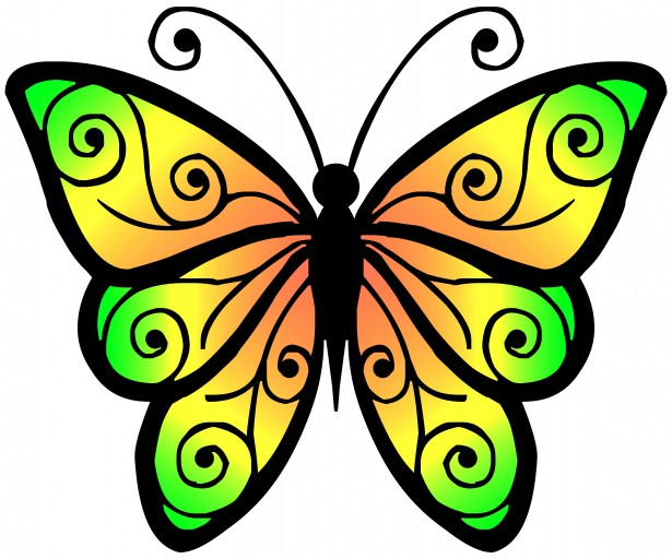 Panda free images butterflyclipart. Clipart butterfly