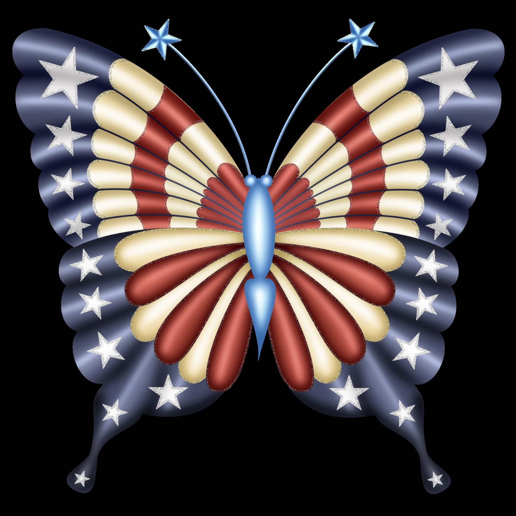 butterflies cricut explore. Clipart butterfly 4th july