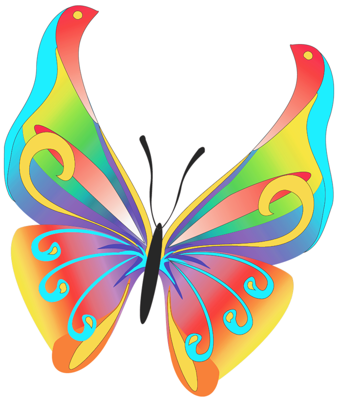 clipart butterfly autism