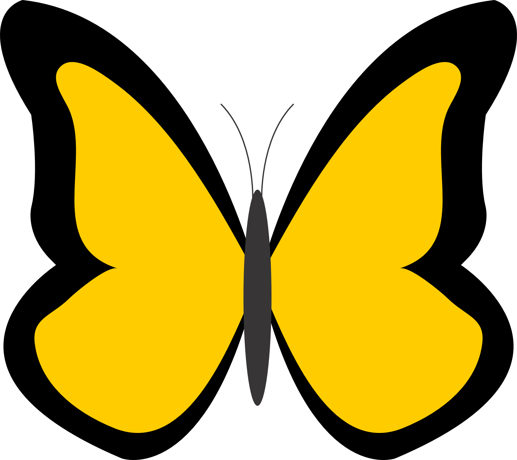 Criminal clipart culprit. Yellow butterfly panda free