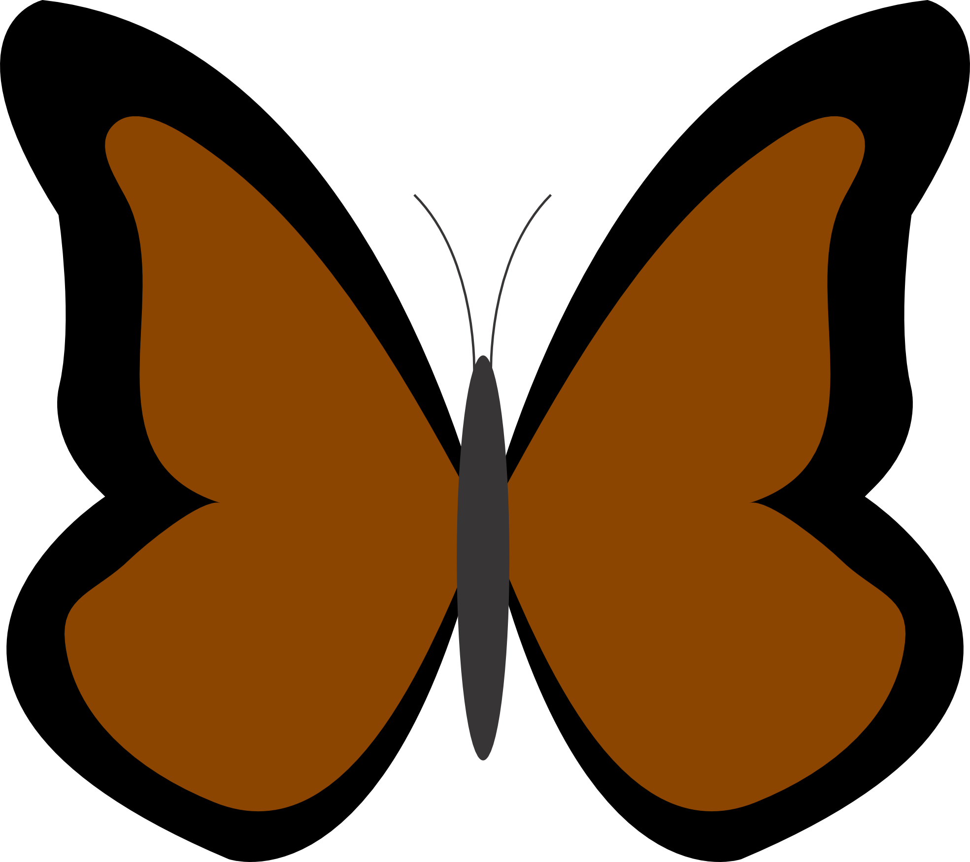 Cartoon at getdrawings com. Clipart butterfly burgundy