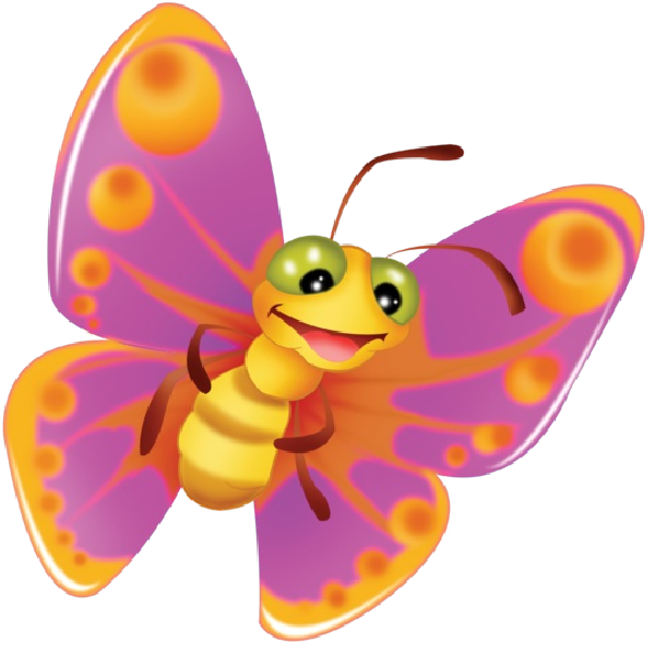 Clipart children butterfly.  collection of cute
