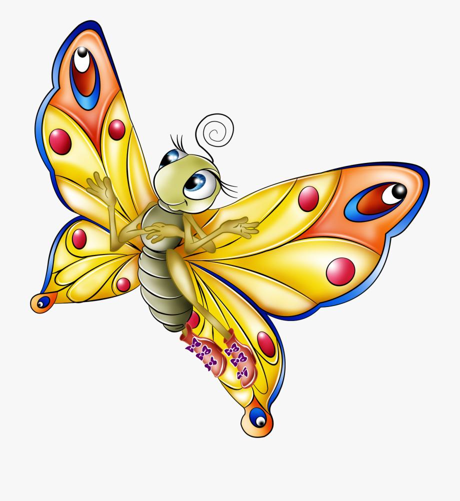 clipart butterfly cartoon