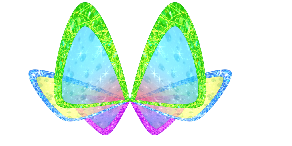 clipart butterfly character