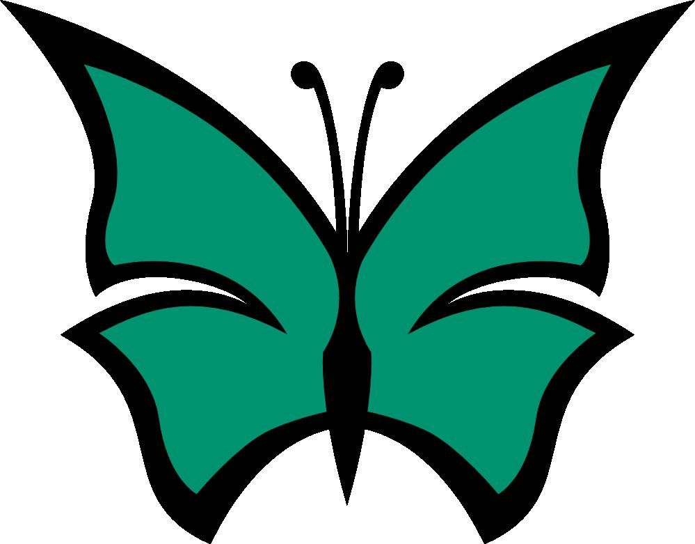 Clipartist net clip art. Clipart butterfly colour