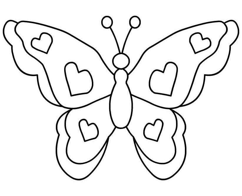 Image vector clip art. Clipart butterfly colour