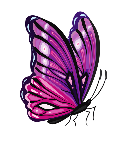 Purple png picture mot. Clipart butterfly diamond