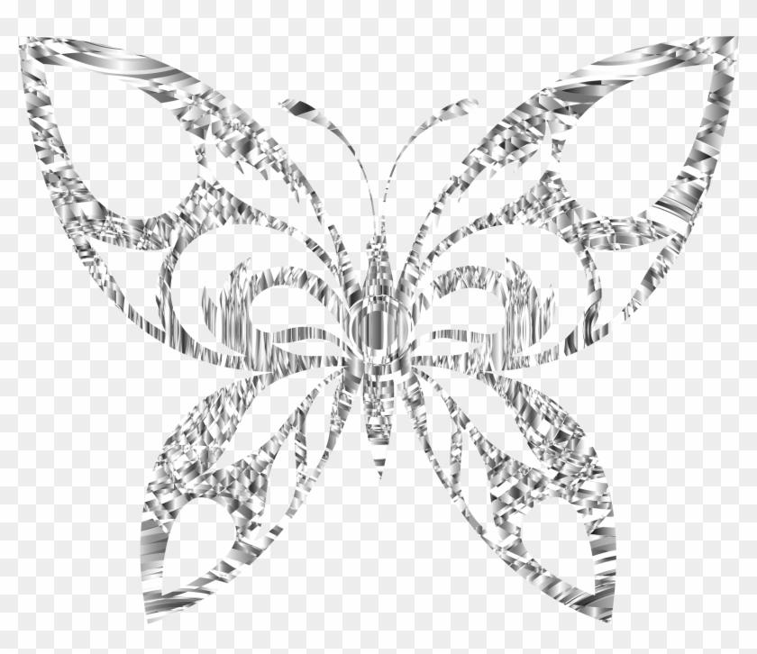 Clip art silver hd. Clipart butterfly diamond