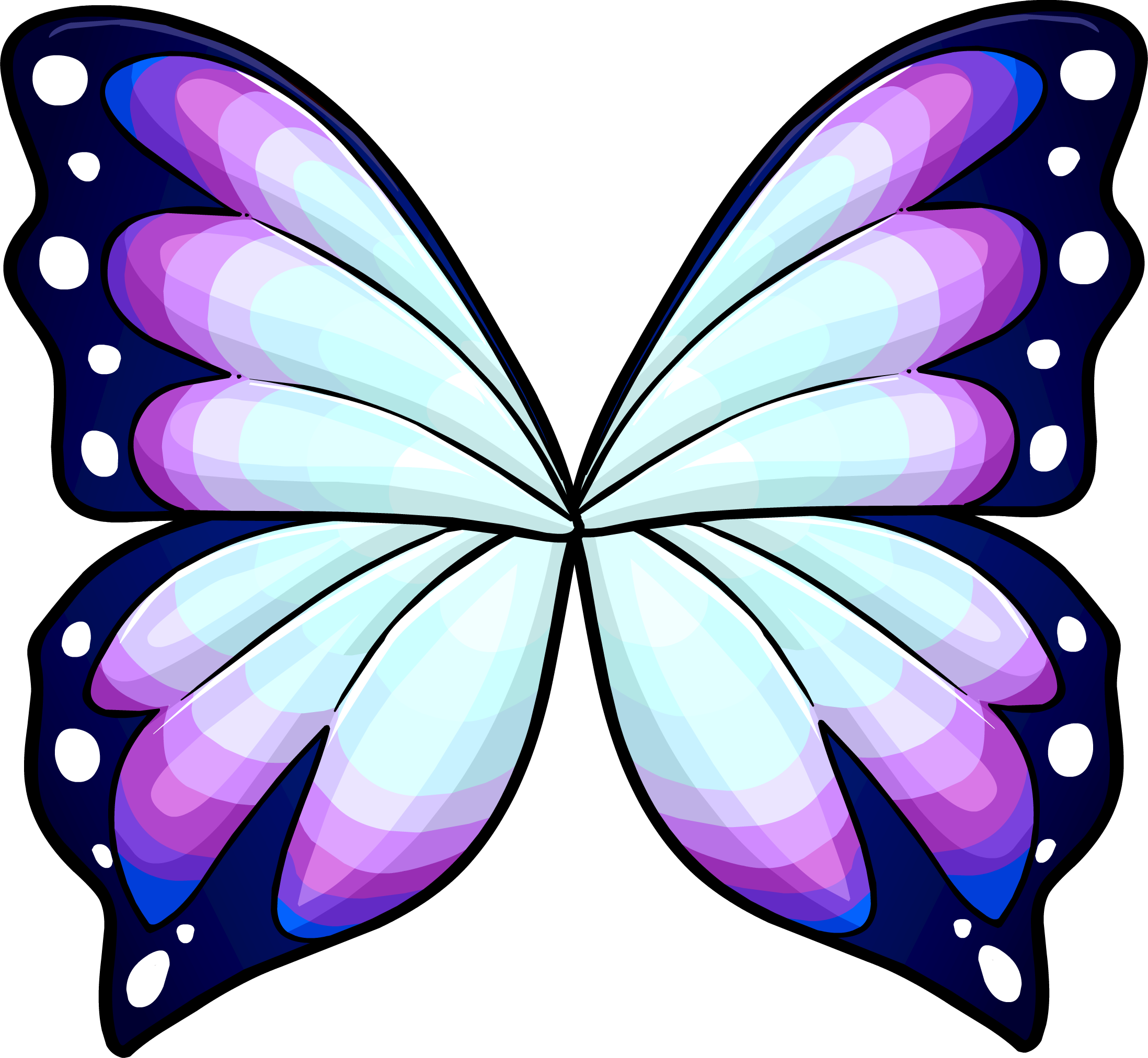 Wings drawing at getdrawings. Fairies clipart butterfly