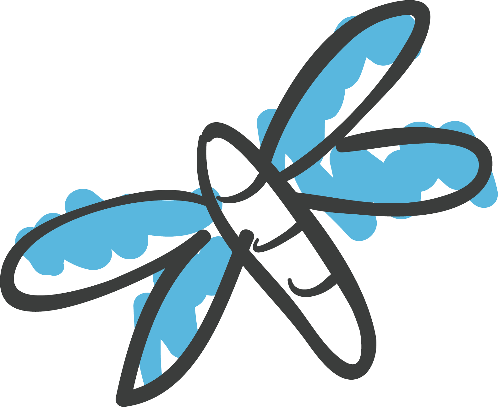 Dragonfly clipart creative. Butterfly clip art transprent