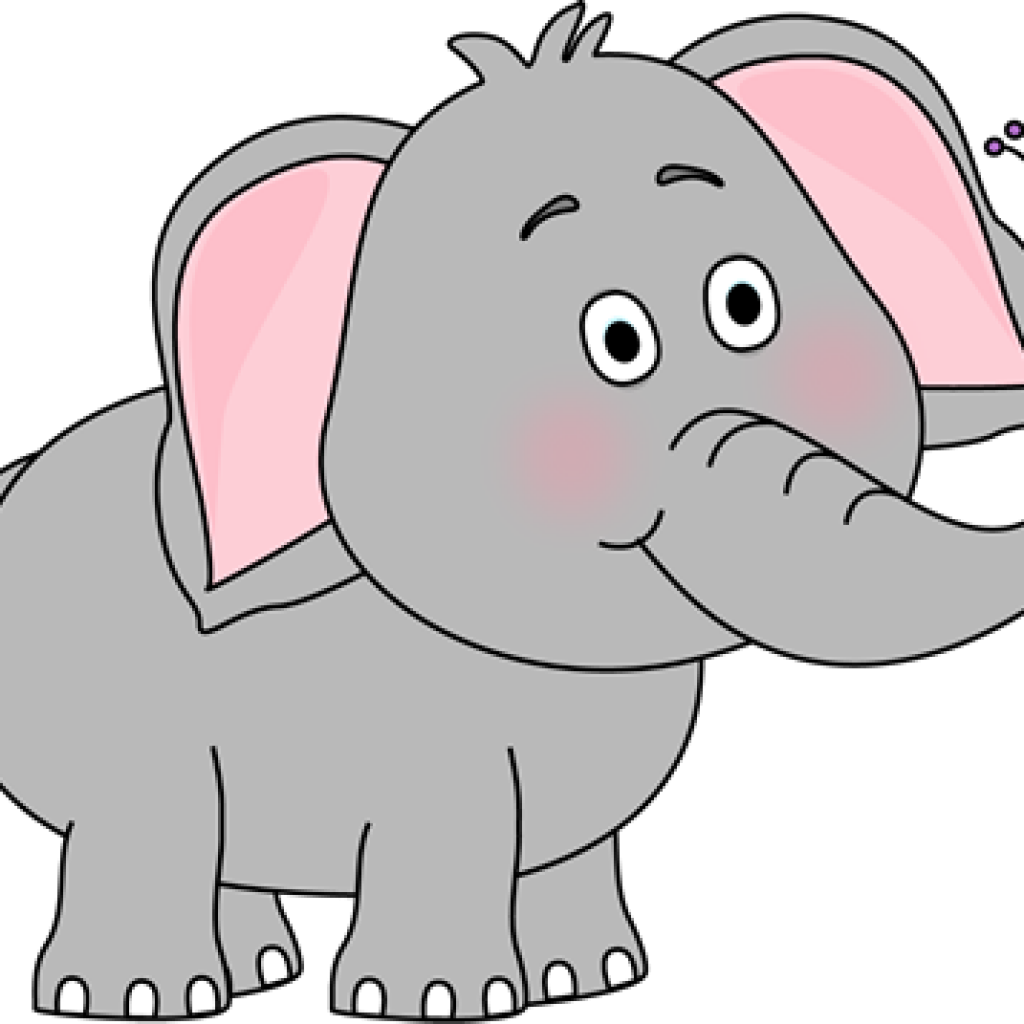 clipart butterfly elephant