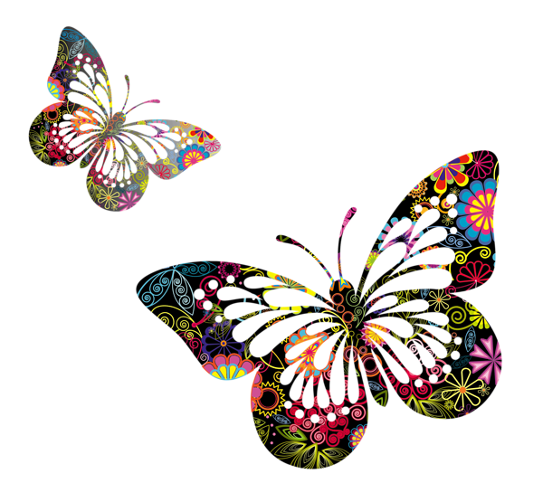 Clipart butterfly enchanted. Butterflies vector png picture