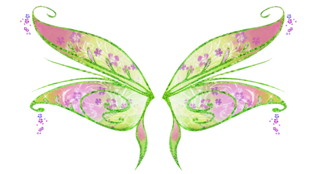Clipart butterfly enchanted. Flora bloomix wings by