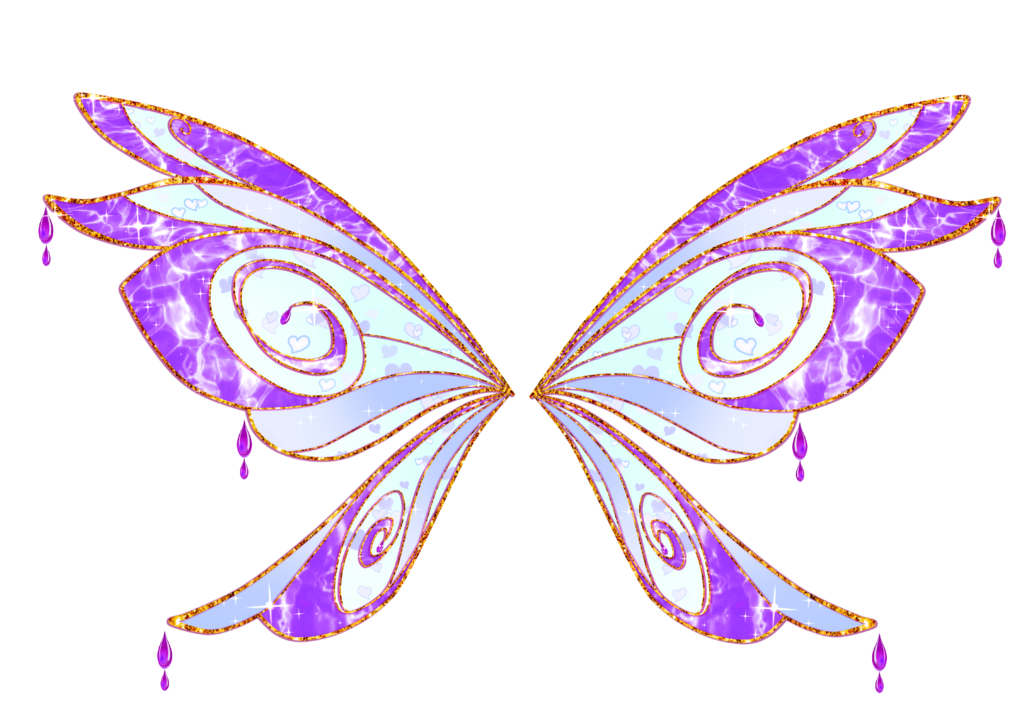 Com serena bloomix wings. Clipart butterfly enchanted