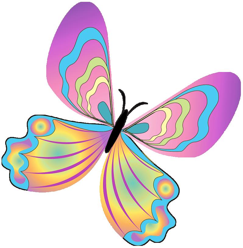 Moth clipart cute. Butterfly graphics clip art