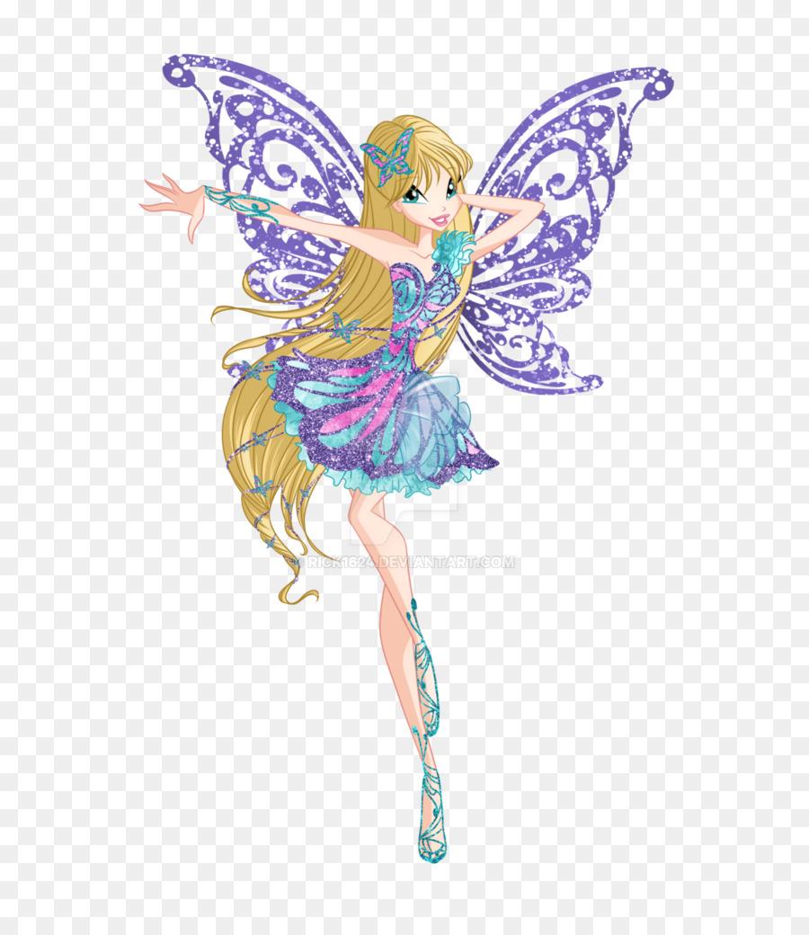 Design art . Fairy clipart butterfly