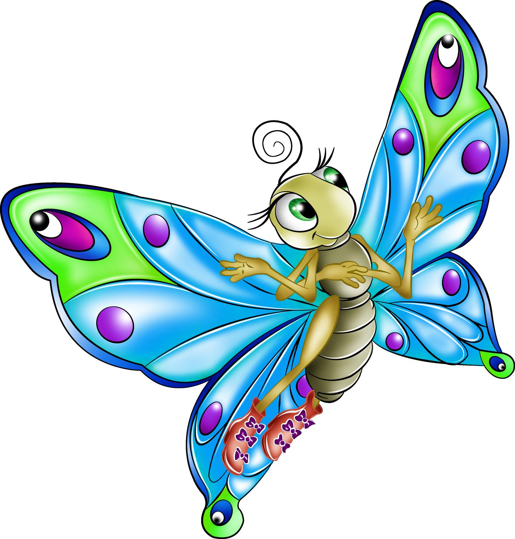 Cartoon drawing clip art. Clipart butterfly fairy