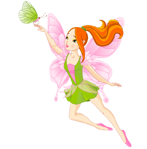 Clipart butterfly fairy. Image du blog mamietitine