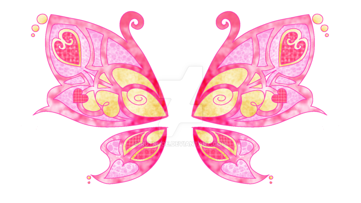 Hannah s wings oc. Clipart butterfly fairy