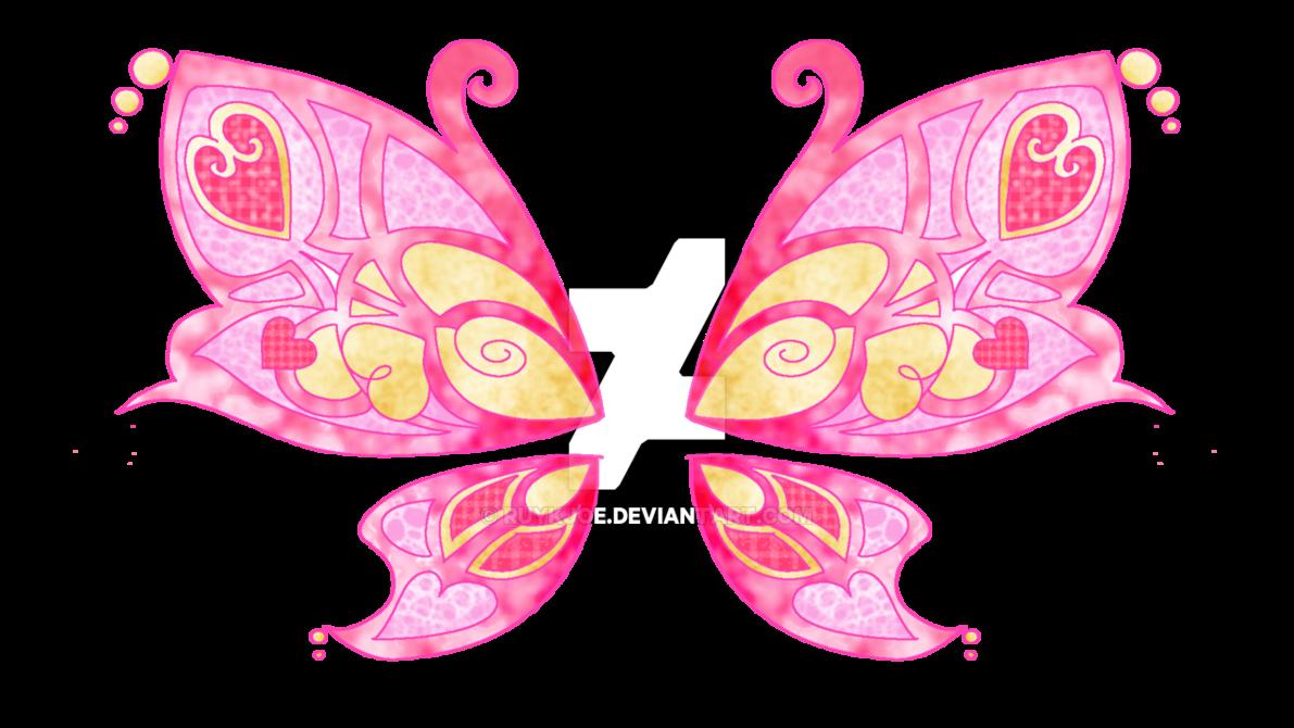 Hannah s wings oc. Clipart butterfly fairy