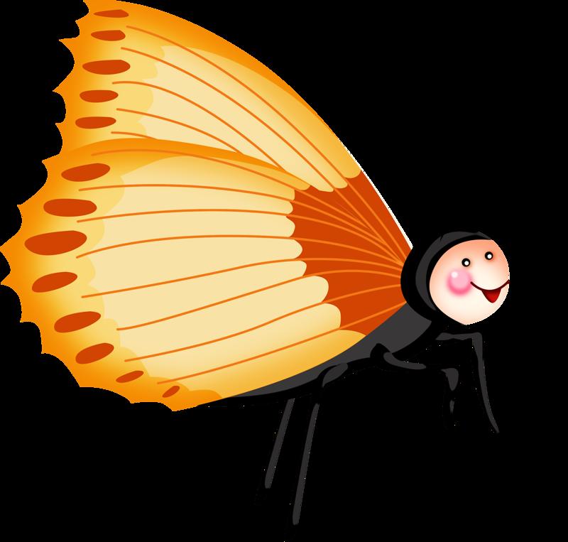 Feather clipart butterfly. Image du blog zezete