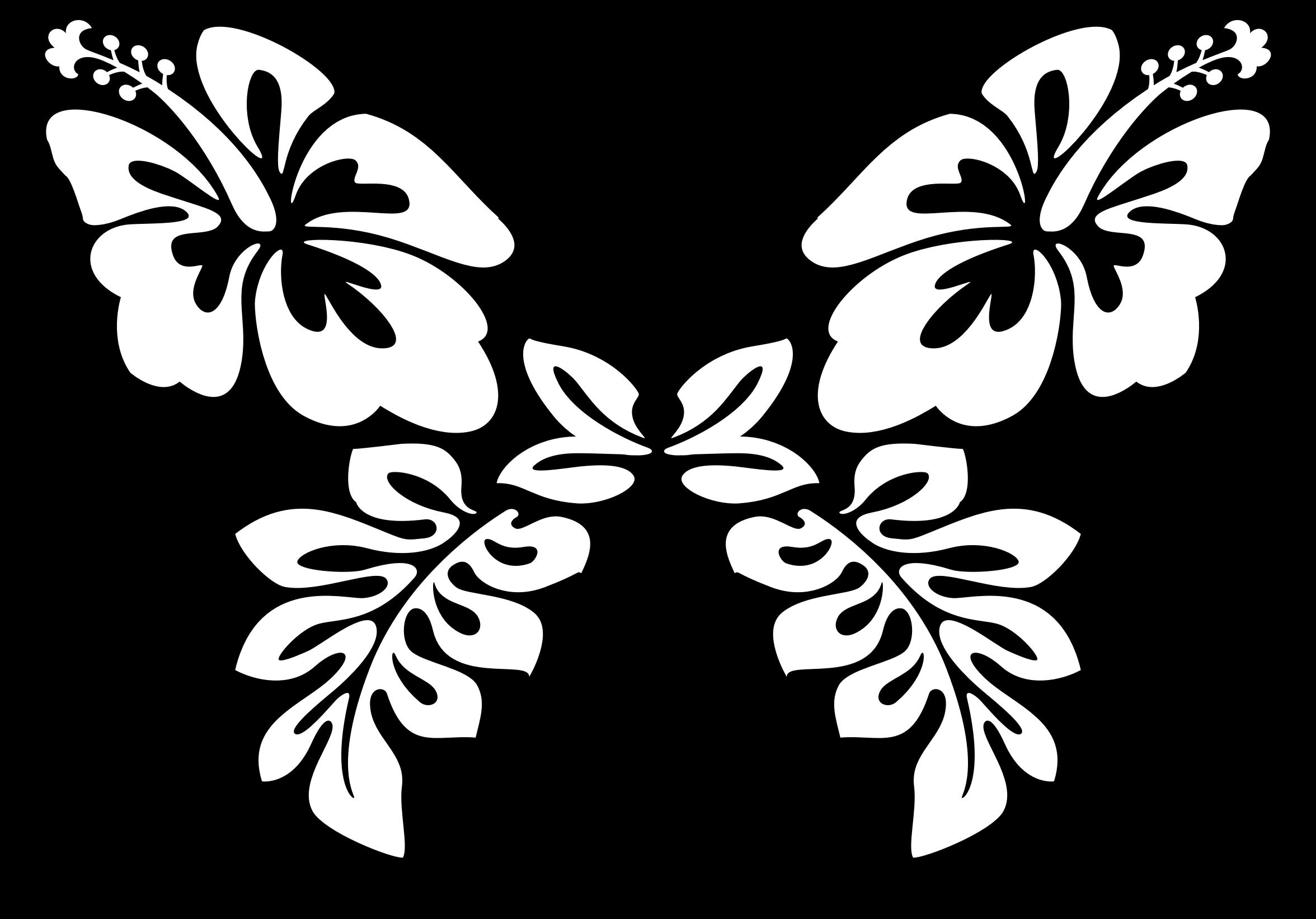 Clipart flower sticker. Butterfly line art big