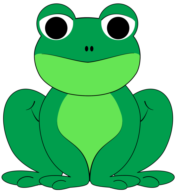 Free images black and. Clipart teacher frog