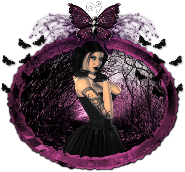 Clipart butterfly gothic. Glitter graphics the community
