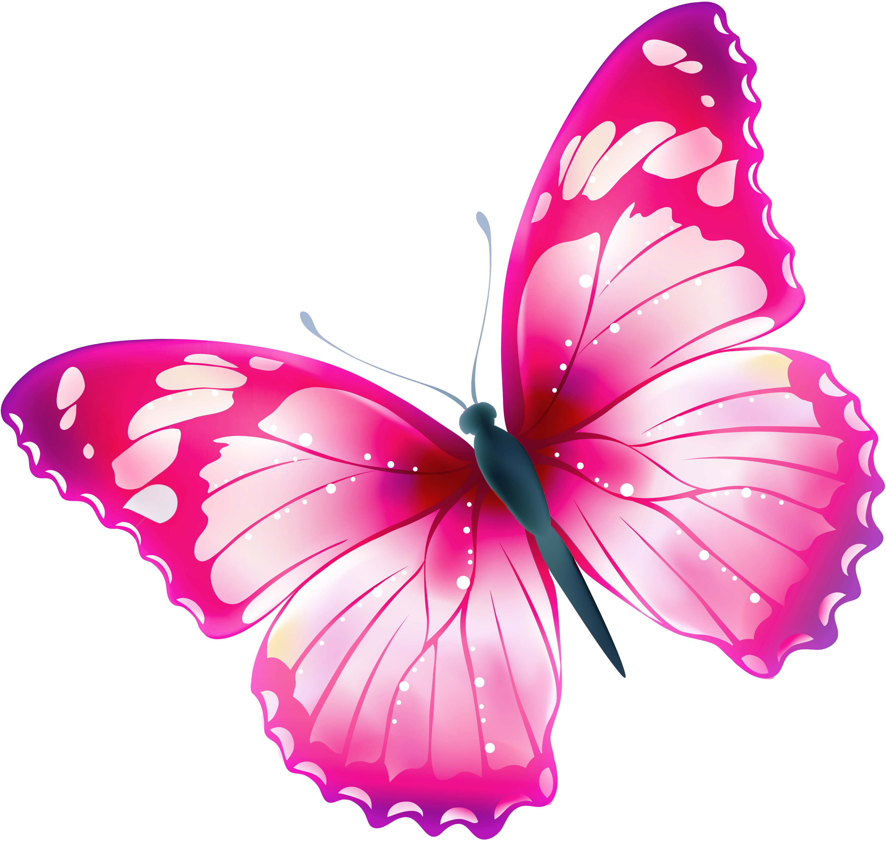Clipart butterfly gothic. Single