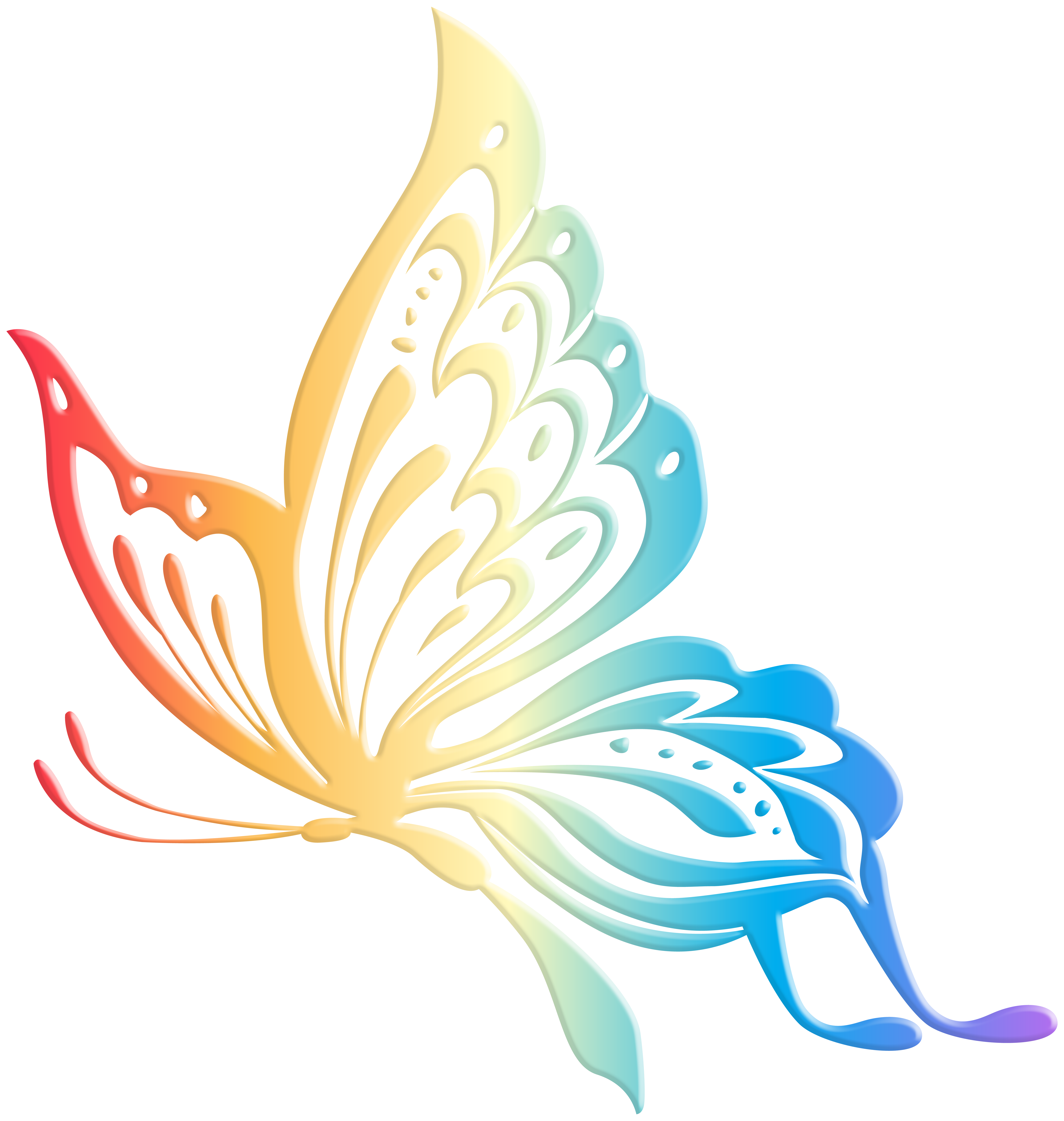 Clipart butterfly happy birthday. Transparent clip art gallery