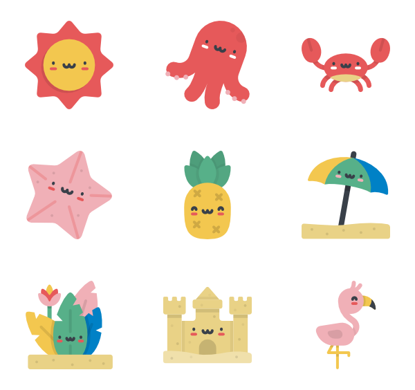 Garden clipart kawaii. Summer characters graphics pinterest