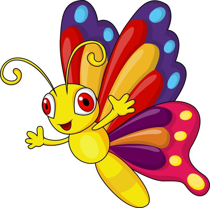 Clipart butterfly kid. Clip art free download