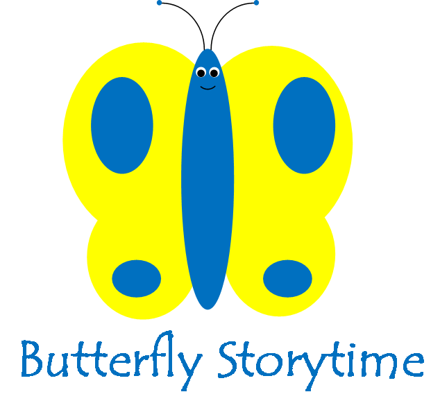 Butterfly narrating tales of. Storytime clipart area