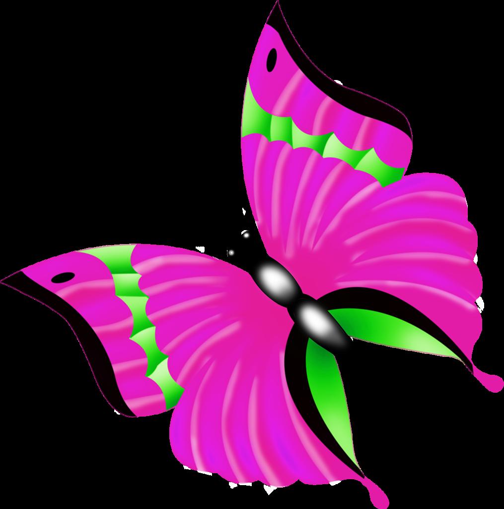Butterflies set png clip. Ladybug clipart butterfly