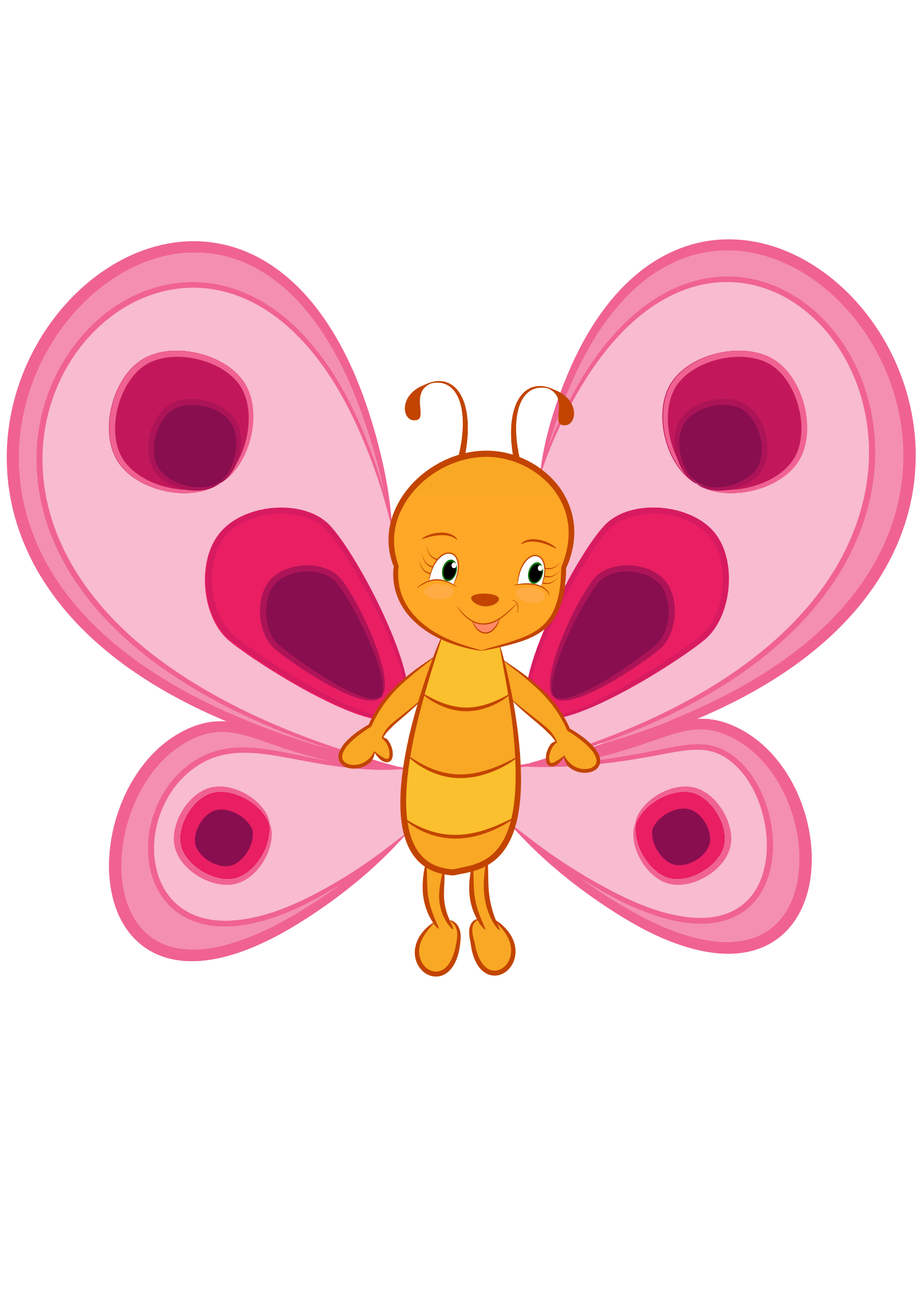 Clipart cute big image. Butterfly vector png