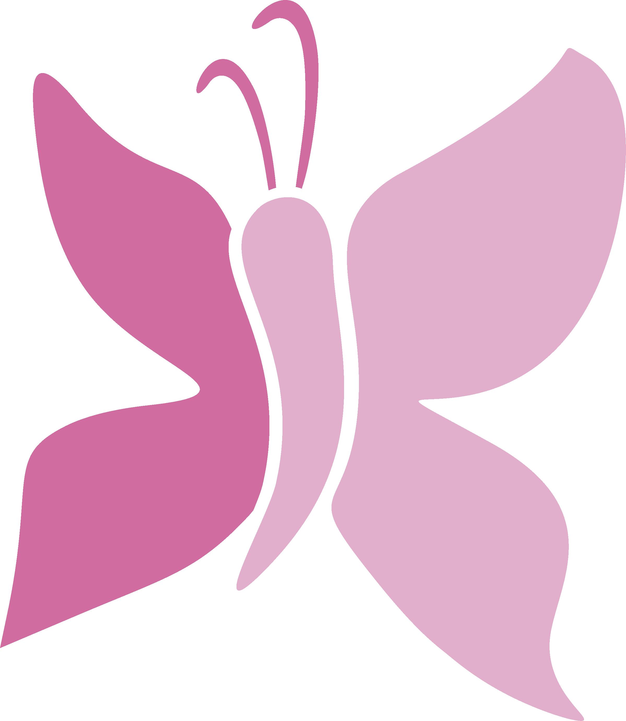 Clip art butterfly beauty. Lightbulb clipart pink