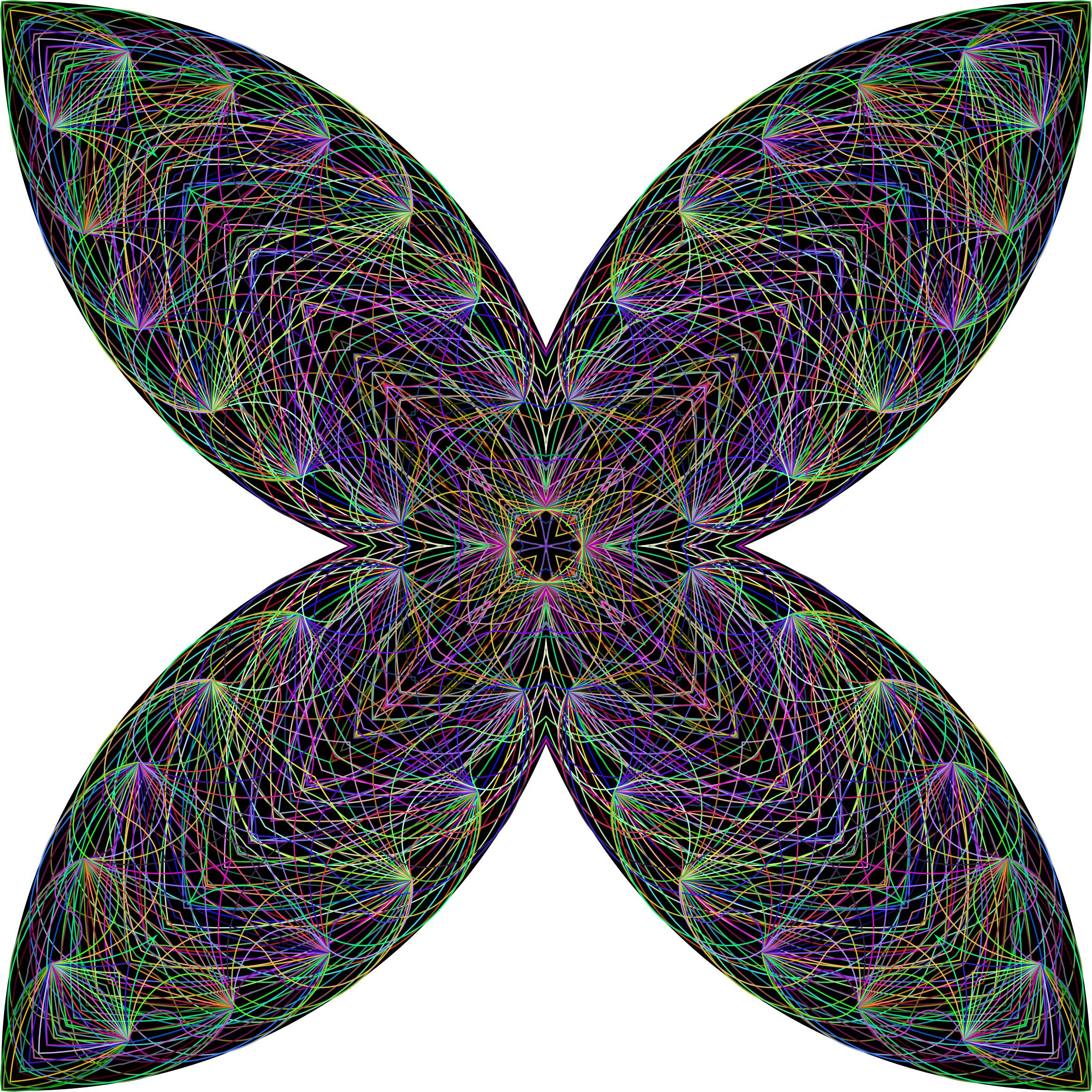 Big image png. Clipart butterfly mandala