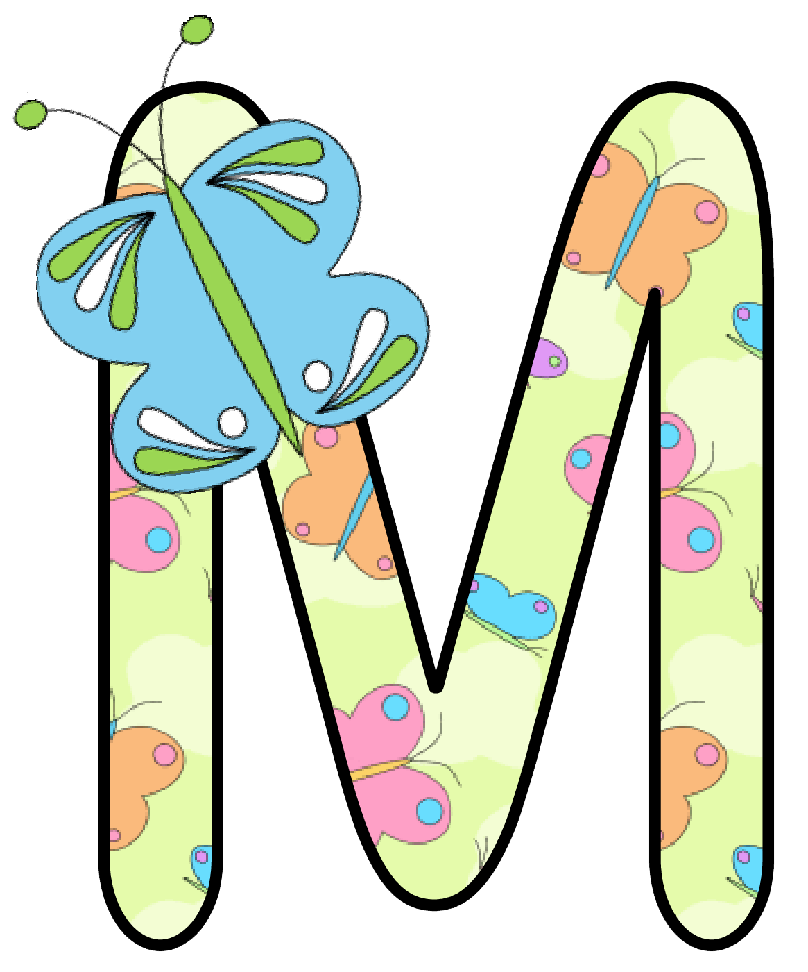 Ch b alfabeto mariposas. Memories clipart lettering