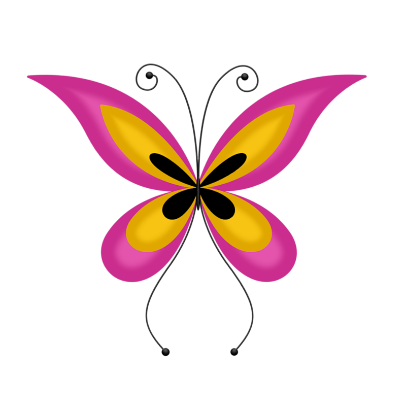 Lc don t stop. Clipart butterfly music