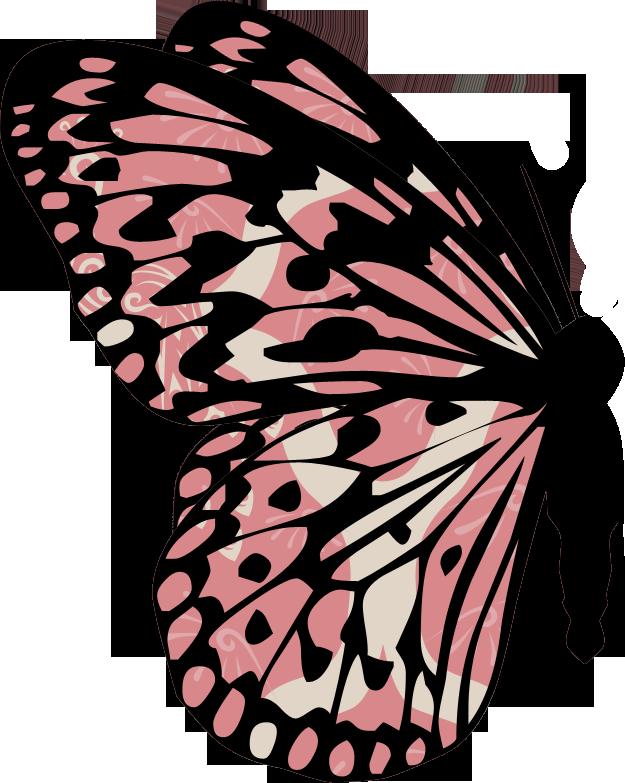 Image du blog zezete. Clipart butterfly nature