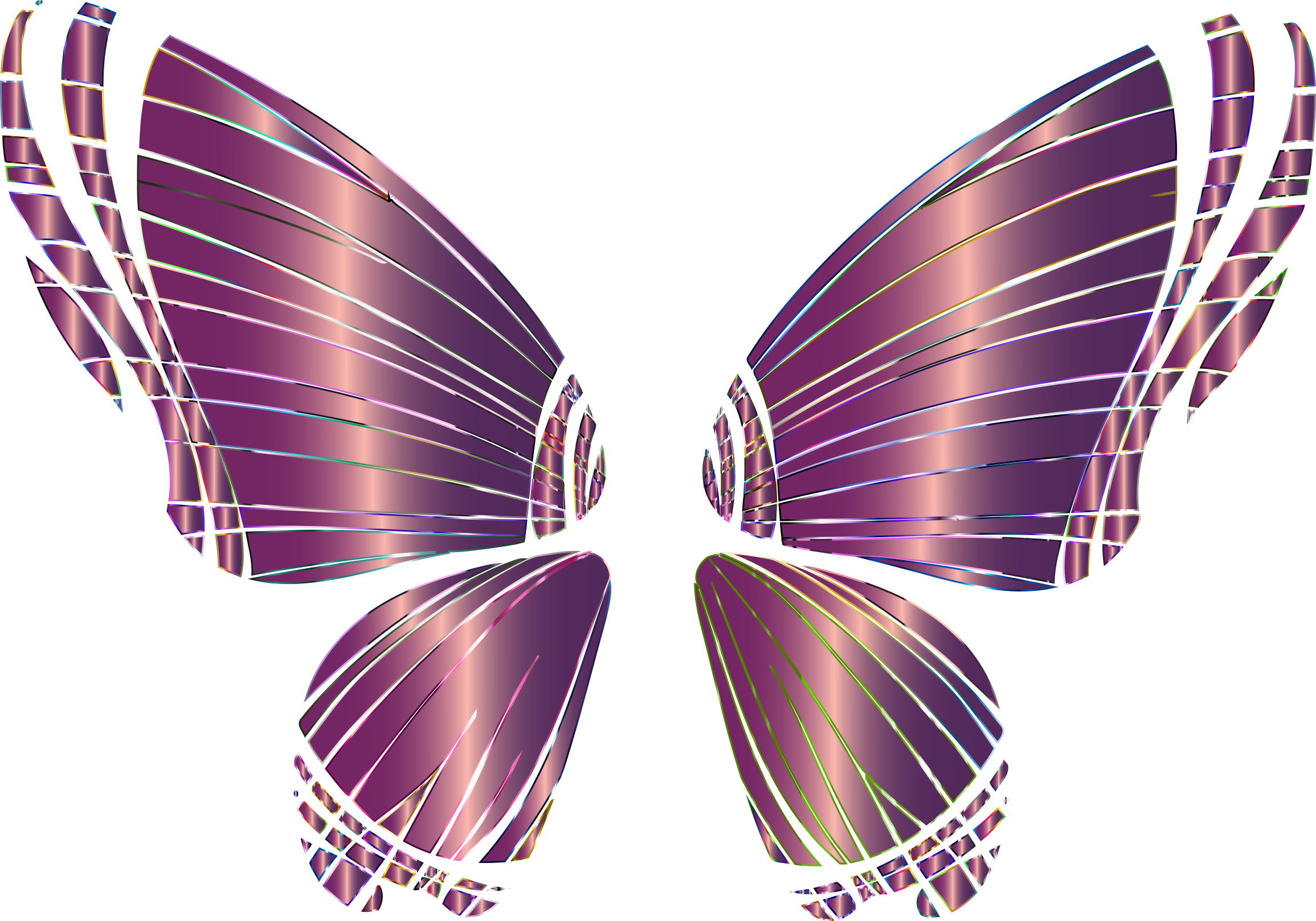 Clipart butterfly number. Rgb silhouette no background
