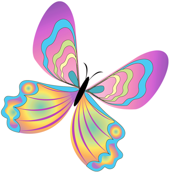 Faith clipart nail. Painted butterfly png fibro