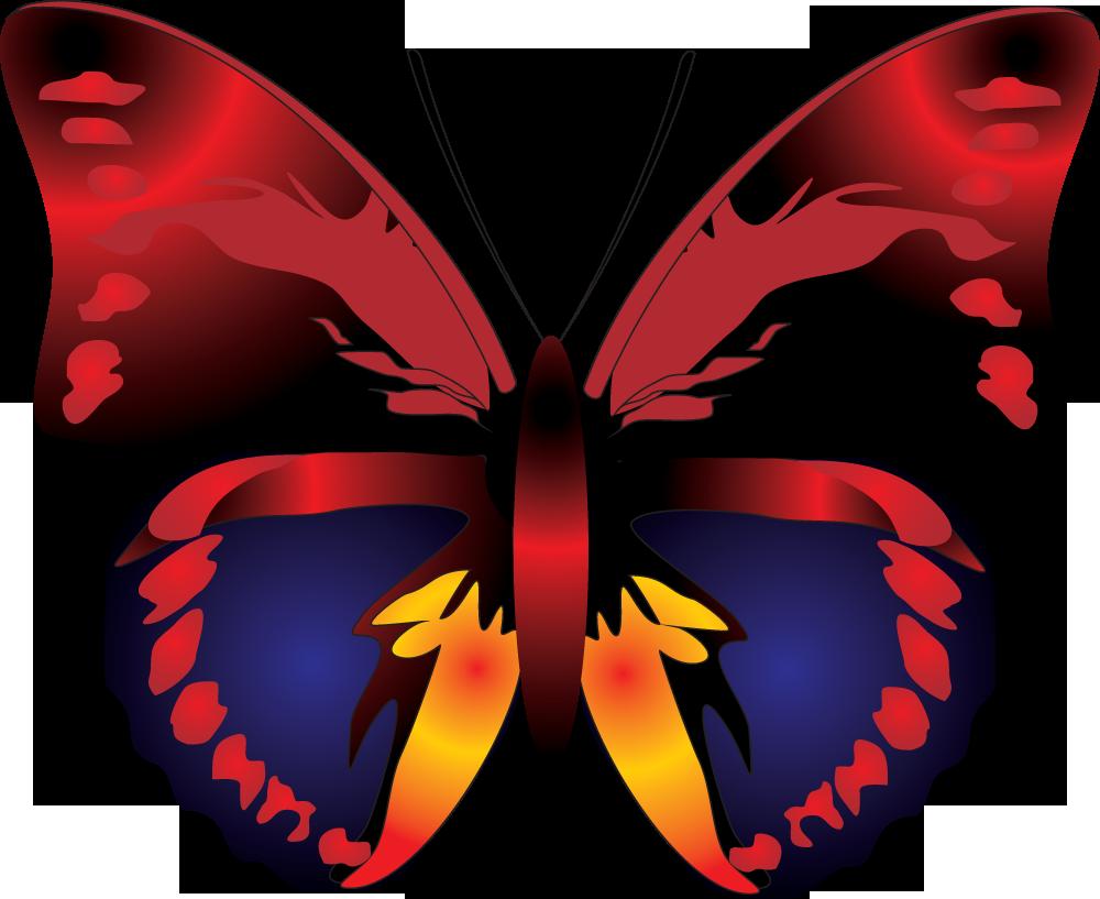 clipart butterfly part