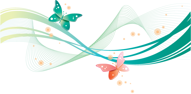 clipart butterfly path