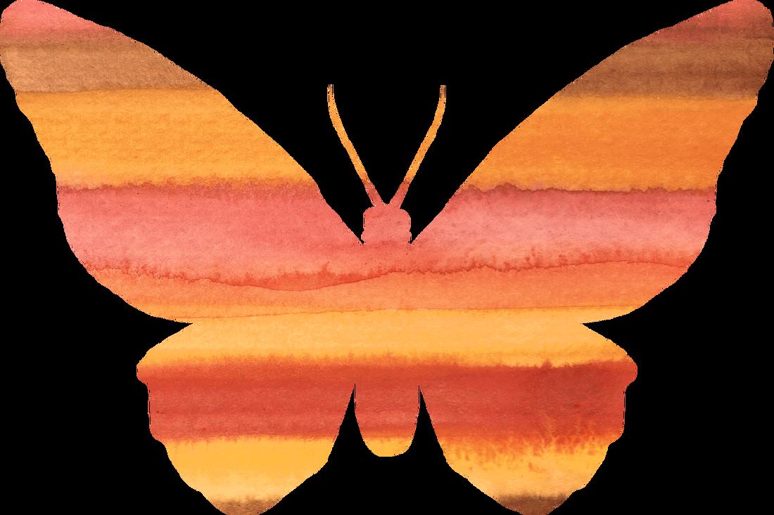 Png modern clip art. Clipart butterfly peach