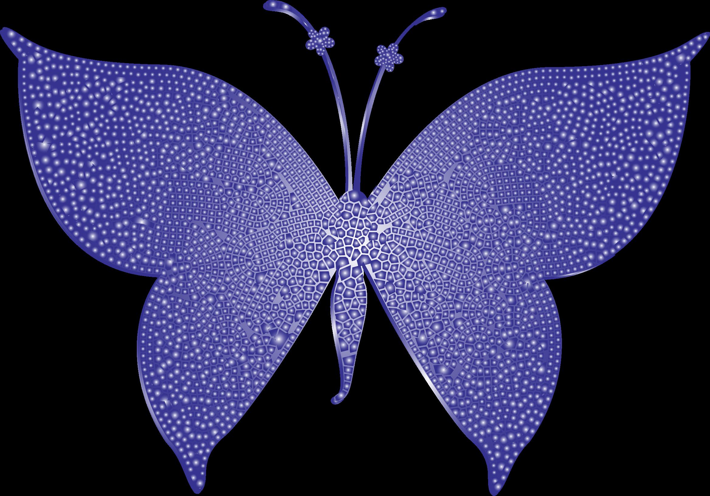 Violet tiled big image. Clipart butterfly purple